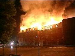 Incendie du couvent, 24 juin 2002