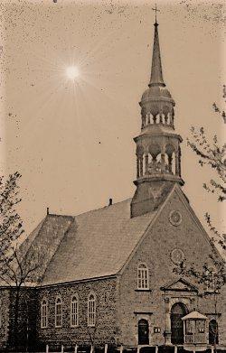 Ancienne église construite en 1811